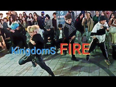 《BTS_#Fire》20190507#KingdomS(킹덤즈) 홍대버스킹 20190507_215628#오늘막곡 #SnowHorse