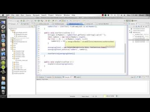 Android Development Course - Chapter 15 - Service Part 1