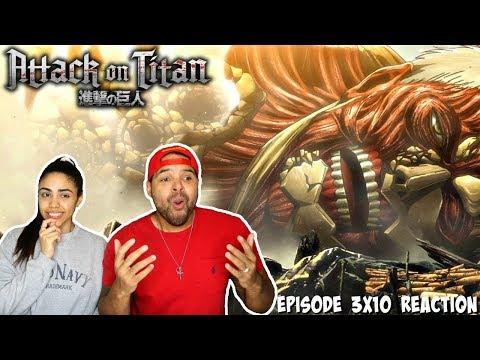 RETURN OF THE ARMORED TITAN?! Attack On Titan Season 3 Episode 10 REACTION!!!