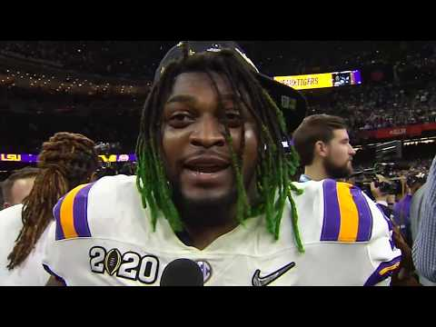 Winning National Championship a Blessing & Dream Come True for LSU's Glen Logan