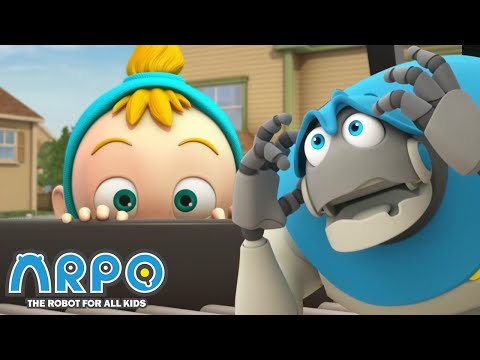 BABY'S NEW SLEEPING BED | Cartoons for Kids | Full Episode | Arpo the Robot