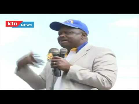Governor Isaac Rutto serves DP William Ruto