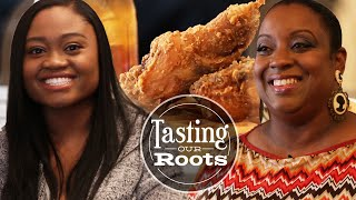 Tasting Our Roots: Chicken And Eggnog Waffles by Tasty