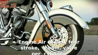 4. Indian Chief Vintage L.E.  Specs Transmission Details Info motorbike Features Top Speed