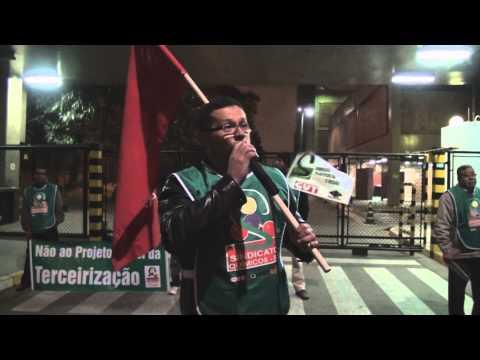 Manifestação Fabrica L'oreal 30 08 2013