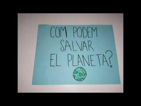 CUIDA EL PLANETA, ESTEM PERDENT UN TRESOR
