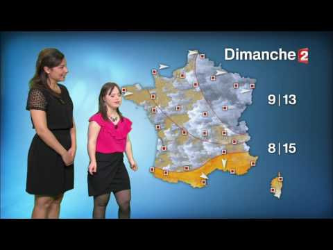 Watch video Météo France 2 Mélanie SEGARD