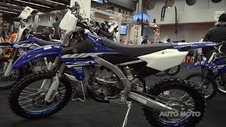 9. 2018 Yamaha WR 450F - Walkaround - 2018 Montreal Motorcycle Show