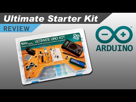 Inside the Arduino Uno R3 Ultimate Starter Kit