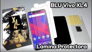 BLU VIVO XL4 - INSTALACION DE VIDRIO TEMPLADO - ESPAÑOL