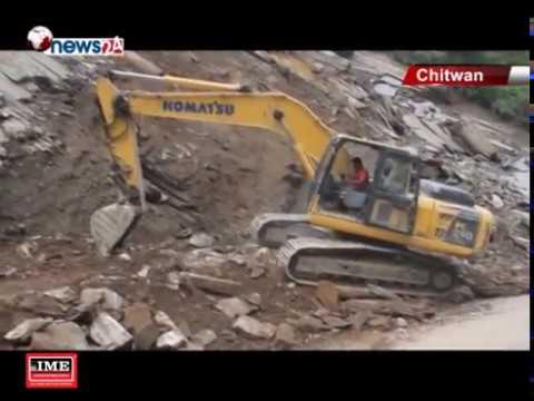 (नारायणगढ मुग्लिङ सडक खण्डको निर्माण कार्य अन्तिम चरणमा..2 min 34 sec)