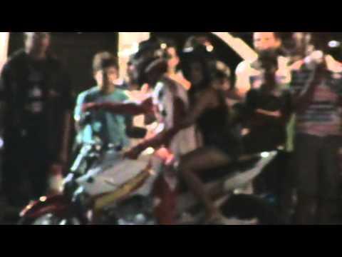 Motocross em Petrolândia na orla.