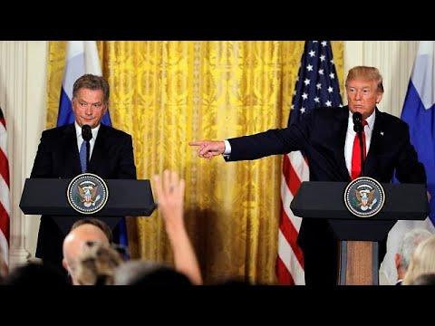 Φινλανδές δημοσιογράφους μπέρδεψε ο Ντόναλντ Τραμπ