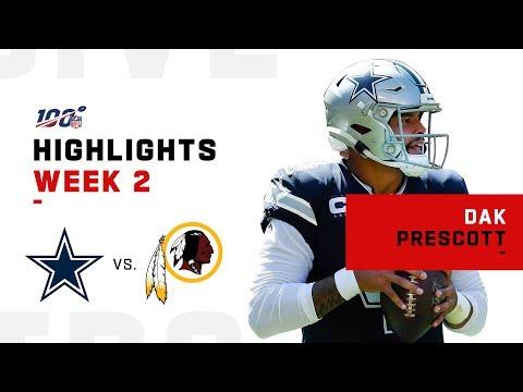 Dak Prescott Dominates Again w/ 3 TDs   NFL 2019 Highlights