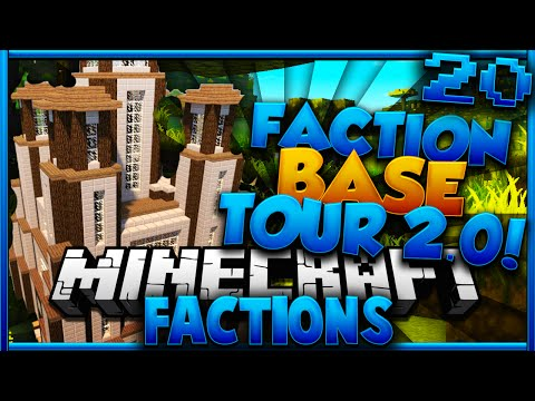 "Minecraft Factions: ""FACTION BASE TOUR 2.0!"" #20 (CosmicPvP: Pleb Planet)"