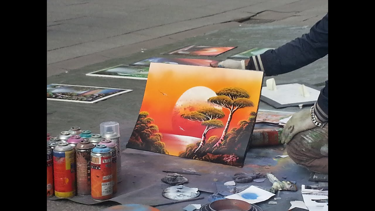Amazing Spray Paint Art