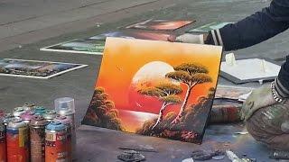 Amazing Spray Paint Art