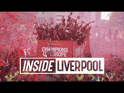 Inside Liverpool: Incredible Scenes From The Champions League Homecoming Parade