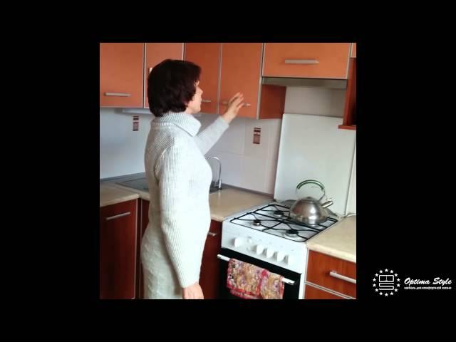 Отзыв о кухне под заказ - Валентина Францевна