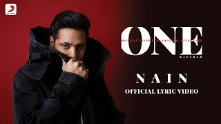 Badshah - Nain | Aastha Gill | Album ONE | Lyrics Video