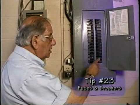 How to replace fuses and reset breakers
