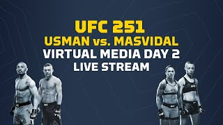 UFC 251 Virtual Media Day 2: Usman vs Masvidal - MMA Fighting by MMA Fighting