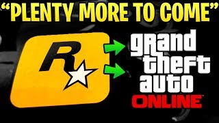 Rockstar's Head CEO Says GTA Online is No Where Near Ending & There Is Plenty More Content Coming