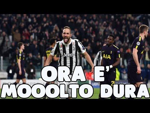 [SFOGO] JUVENTUS - Tottenham 2-2   ORA SI FA MOOOLTO DURA!!