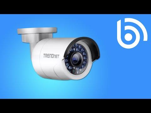 TRENDnet TV-IP320PI Camera Demo Footage
