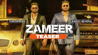 Zameer: Aarsh Benipal, Harsimran (Teaser) Releasing 19 November