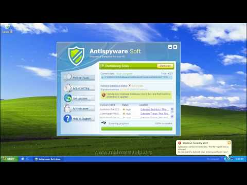 0 Antispyware Soft Removal and Analysis