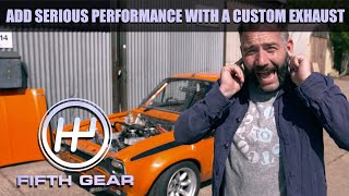How to add some serious power with a custom exhaust | Fifth Gear by Fifth Gear