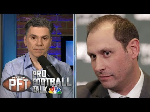 Video: Adam Gase makes memorable first impression with Jets | Pro Football Talk | NBC Sports