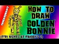 How To Draw Springtrap (Golden Bonnie) from Five Nights At Freddy's 3 ✎ YouCanDrawIt ツ 1080p HD FNAF
