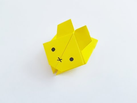 Origami - How to Make a Jumping Rabbit
