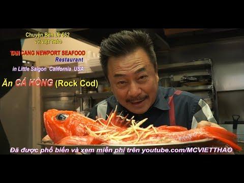 MC VIỆT THẢO- CBL (662)- Ăn CÁ HỒNG (Rock Cod) ở TÂN CẢNG NEWPORT SEAFOOD RERSTAURANT. - Thời lượng: 40:49.