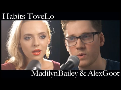 Acoustic - Download on iTunes HERE: http://bit.ly/habits_agmb Madilyn's Channel HERE: http://www.youtube.com/user/MadilynBailey Alex's Channel HERE: http://www.youtube.com/gootmusic Hey ...