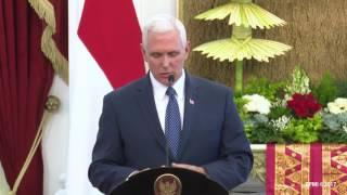 Video Penyambutan Wakil Presiden Amerika Serikat MP3, 3GP, MP4, WEBM, AVI, FLV Oktober 2017
