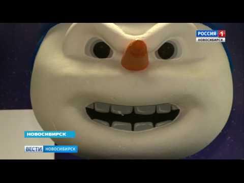 Снеговик хоккейной «Сибири» поблагодарил болельщиков за звание главного маскота КХЛ (видео)
