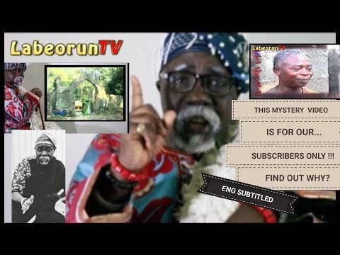 HIGH PROFILE AGELONG MYSTERY VIDEO SPECIALLY MADE FOR OUR SUBSCRIBERS IN ENGLISH AND YORUBA