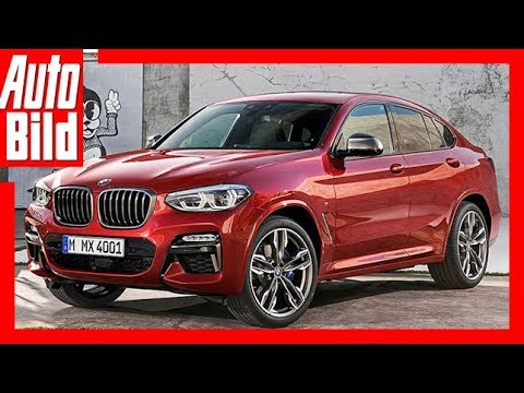 BMW X4 (2018) - Erste Sitzprobe / Details / Erkläru ...