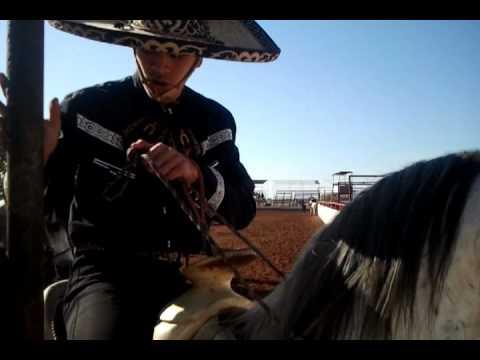 Coleadero en rancho la herradura de oklahoma