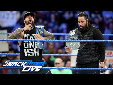 The Usos dare any team to step up and challenge them: SmackDown LIVE, Jan. 30, 2018