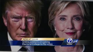 Online petitions are asking Electoral College to flip votes. Subscribe to KOAT on YouTube now for more: http://bit.ly/1jocB9r Get ...