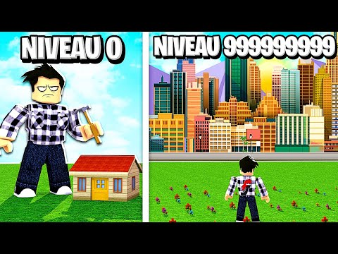 MA VILLE NIVEAU 999,999,999 DANS ROBLOX ! (Roblox City Tycoon)