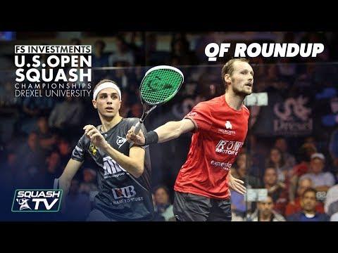 Squash: Men's Quarter Final Roundup Pt. 2 - US Open 2018