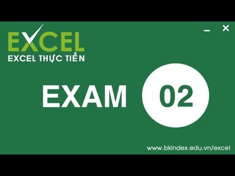 [BKIndex][Excel thực tiễn] HDG CĐ 02-Bài 2 Xem và tạo định dạng worksheet