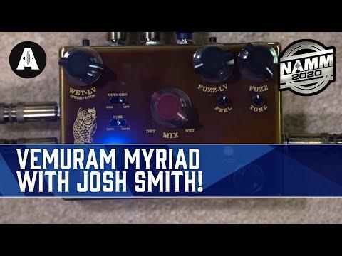 The Dual Vemuram Myriad Fuzz with Josh Smith! - NAMM 2020