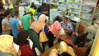 افتتاح معرض الياسر للكتب والقرطاسية في جامعة خضوري