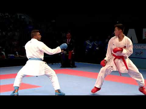 KL2017 29th SEA Games | Karate - Men's Kumite ↓60kg FINALS - 🇲🇾 MAS vs 🇵🇭 PHI | 22/08/2017